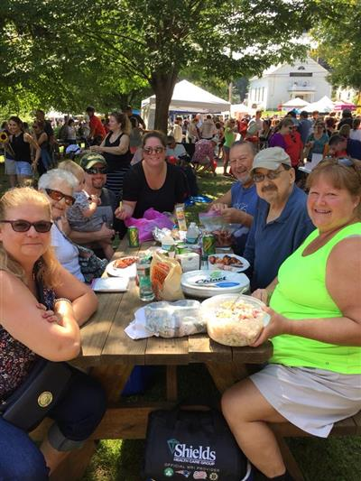 Community at Tyngsboro Block Party