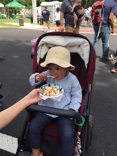 Ice Cream at Tyngsboro Block Party