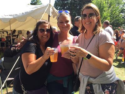 Friends at the Tyngsboro Block Party